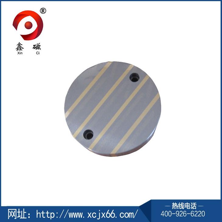 圆形导磁块